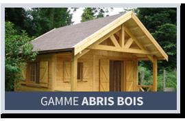 Gamme Abris bois