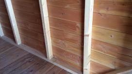 Murs en bardage bois