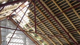 charpente metallique abri beton