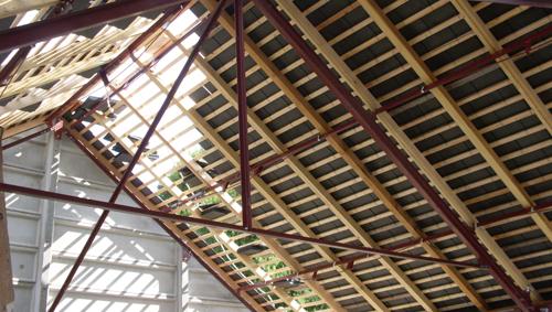Abris de jardin en b ton pr fabriqu s sodibat vienne 86 for Type de charpente metallique