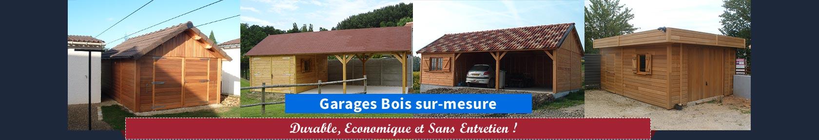 Garages en bois Sodibat Vienne 86