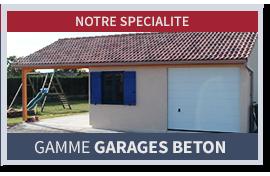 Gamme garages béton préfabriqué