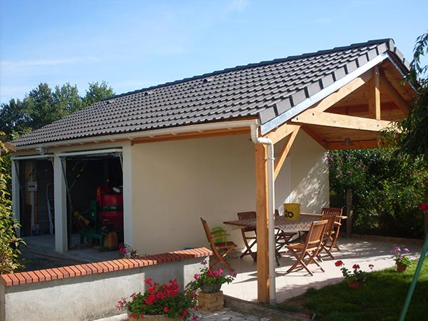R alisations garages en b ton pr fabriqu s sodibat for Garage prefabrique beton en kit