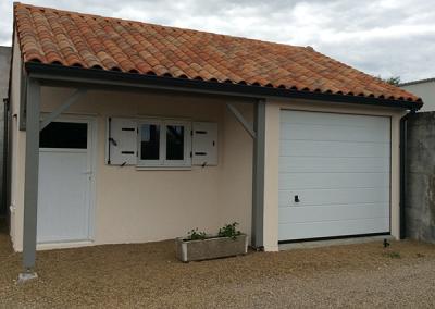 Garage béton / Expo Tartarin