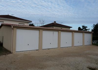 Garages collectifs béton