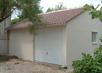 Garage simple en béton préfabriqué