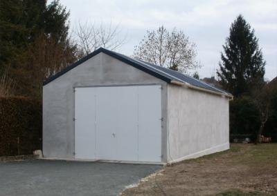 Hangar garage en béton 1 porte