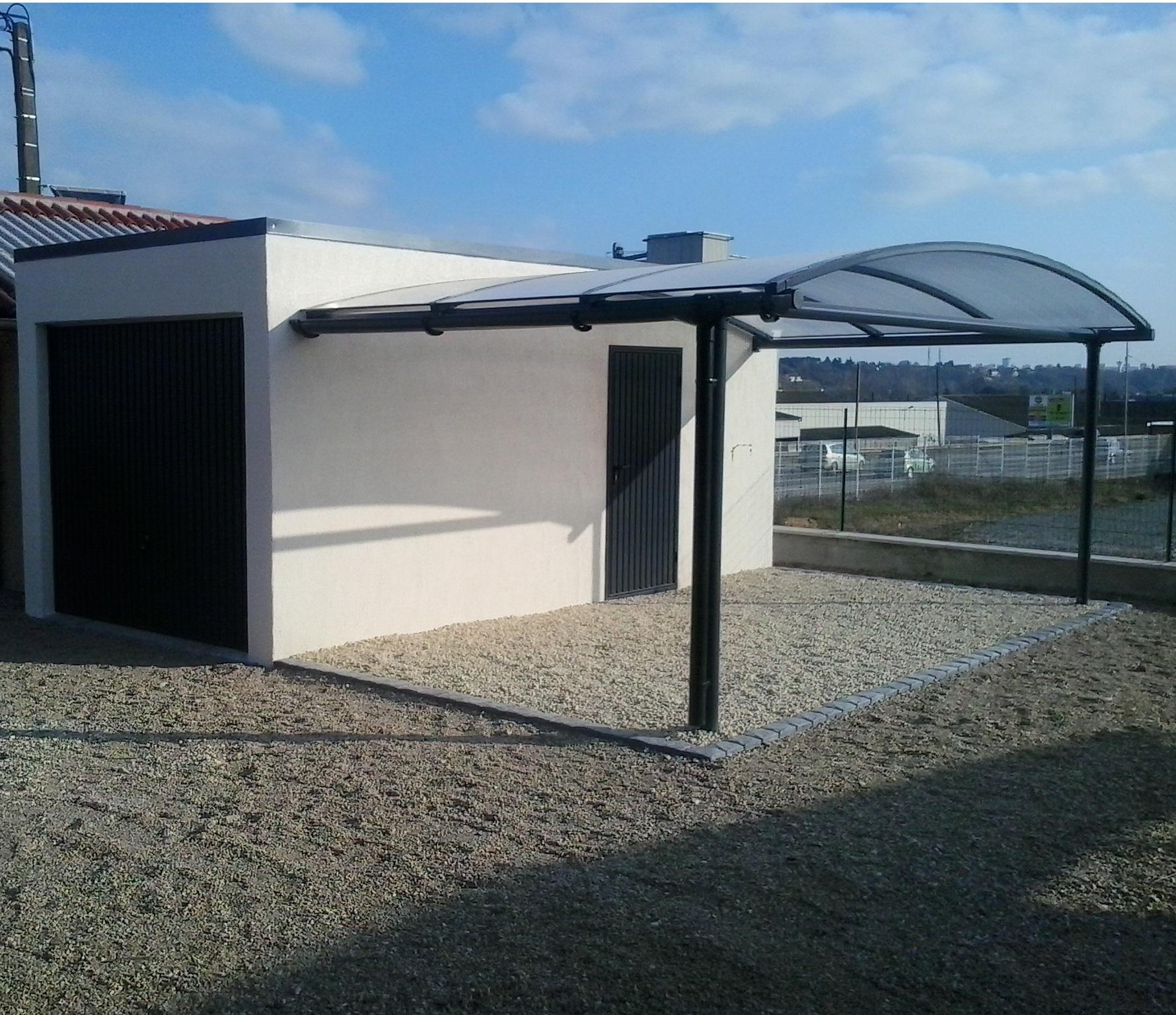 Garage à toit plat TARTARIN