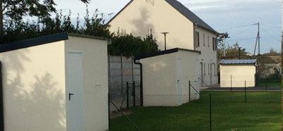 Construction d'abris de jardin, simple et double, à Chinon (37)