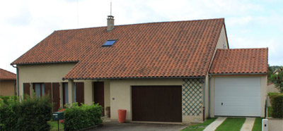 Construction d'un garage en béton près de Limoges (87)