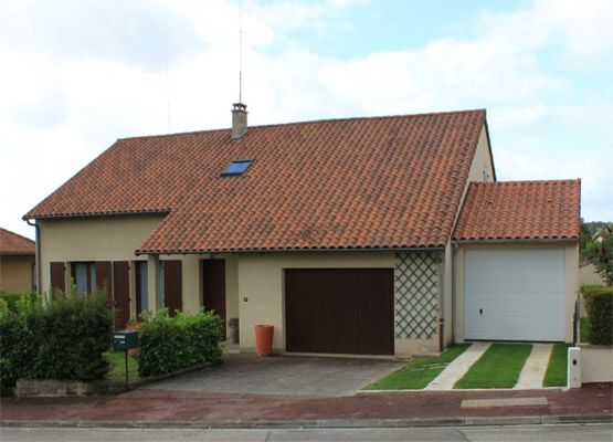 Construction d un garage en b ton pr s de limoges 87 - Construction garage prefabrique beton ...
